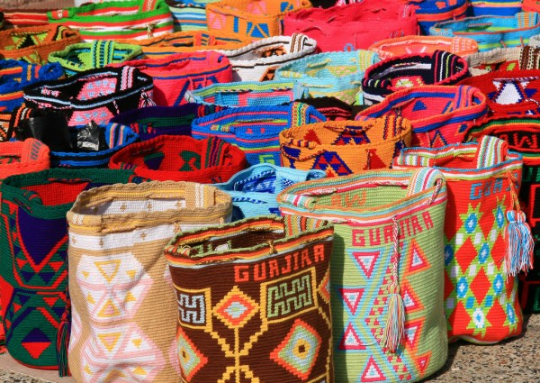 Wayúu mochilas. Photo courtesy of Theculturetrip.com/Photograph by Tanenhaus/Flickr
