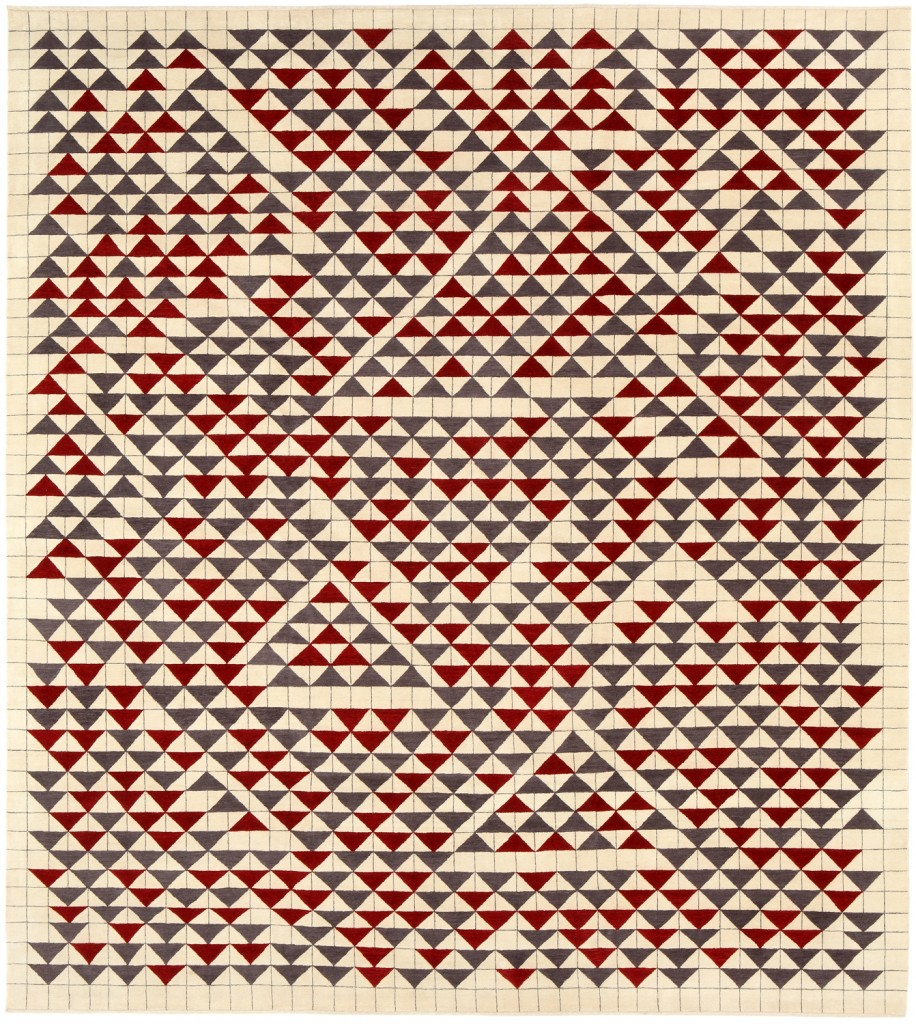 Anni Albers, Study for Camino Real, 1967. Gouache on paper. 44.5 x 40.6 cm. The Josef and Anni Albers Foundation, Bethany, Connecticut.