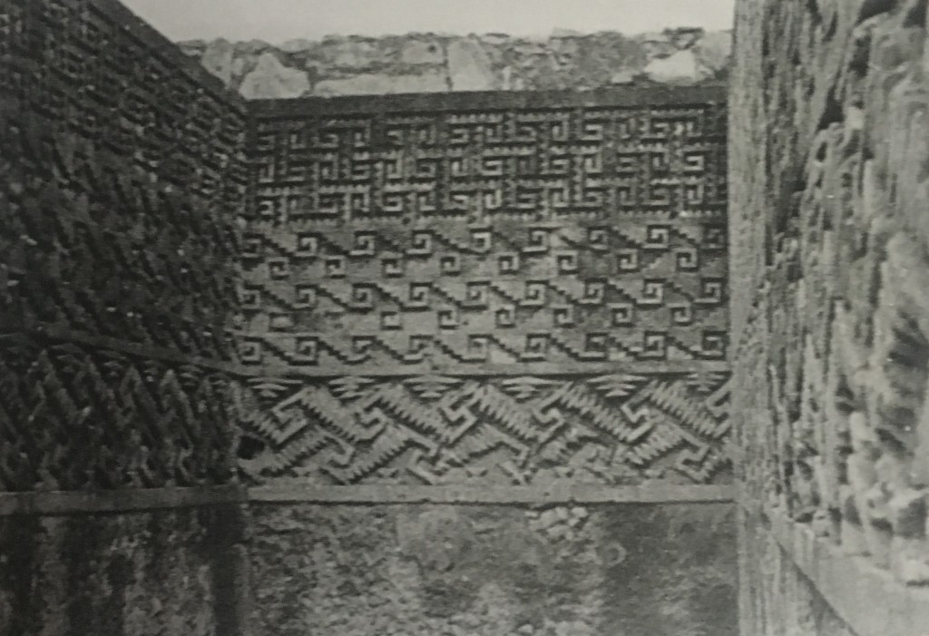 Josef Albers, Detail of Mitla, 1935. Gelatin silver print, 8.1 x11.9 cm. The Josef and Anni Albers Foundation, Bethany, Connecticut.